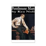 Penthouse Man 35x21 Wall Decal