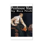 Penthouse Man 20x12 Wall Decal