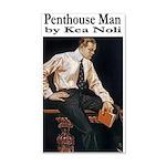 Penthouse Man 35x21 Wall Decal