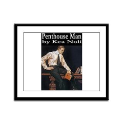 Penthouse Man Framed Panel Print