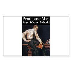 Penthouse Man Sticker (Rectangle 50 pk)