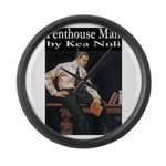 Penthouse Man Large Wall Clock