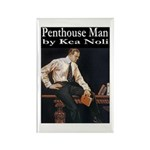 Penthouse Man Rectangle Magnet