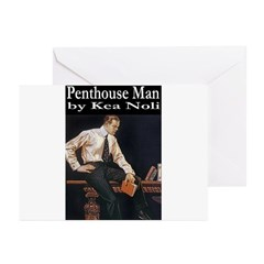 Penthouse Man Greeting Cards (Pk of 20)