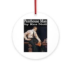 Penthouse Man Ornament (Round)