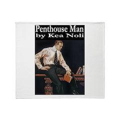 Penthouse Man Throw Blanket