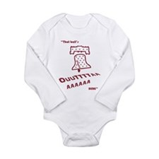 That Balls Outta Here Long Sleeve Infant Bodysuit