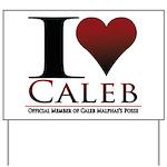 I Heart Caleb Yard Sign