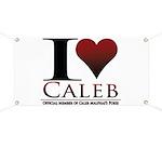 I Heart Caleb Banner