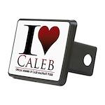 I Heart Caleb Rectangular Hitch Cover