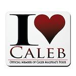 I Heart Caleb Mousepad
