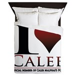 I Heart Caleb Queen Duvet