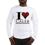I Heart Caleb Long Sleeve T-Shirt