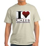 I Heart Caleb Light T-Shirt