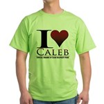 I Heart Caleb Green T-Shirt