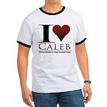 I Heart Caleb Ringer T