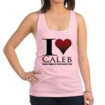 I Heart Caleb Racerback Tank Top
