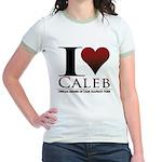 I Heart Caleb Jr. Ringer T-Shirt