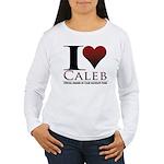 I Heart Caleb Women's Long Sleeve T-Shirt