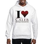 I Heart Caleb Hooded Sweatshirt