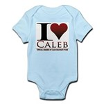 I Heart Caleb Infant Bodysuit