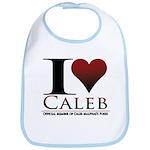 I Heart Caleb Bib