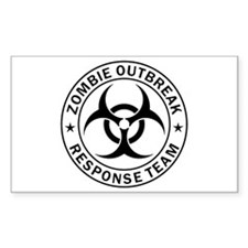 ZOMBIE RESPONSE TEAM R0001 Decal