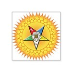 "OES In the Sun Square Sticker 3"" x 3"""