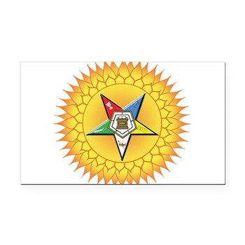 OES In the Sun Rectangle Car Magnet