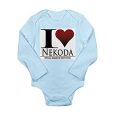 I Heart Kody Long Sleeve Infant Bodysuit