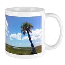 Leaning Tree in Florida Mug