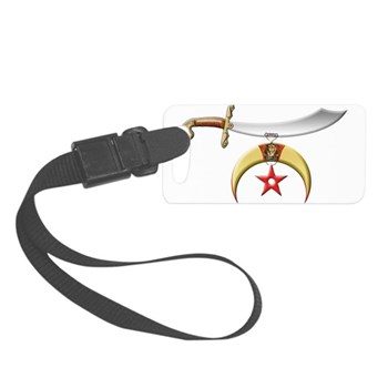 The Shriner Small Luggage Tag