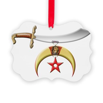 The Shriner Picture Ornament