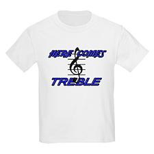 HERE COMES TREBLE- BLUE T-Shirt