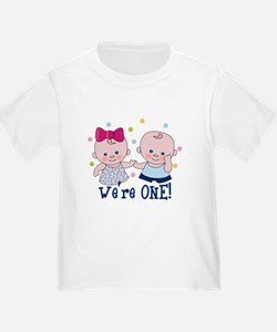 We're One Boy & Girl T