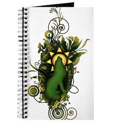 Salazar Crest Flourish Journal