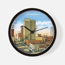 Vintage Birmingham Wall Clock