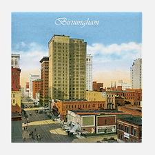 Vintage Birmingham Tile Coaster