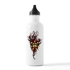 Lask Crest Flourish Water Bottle