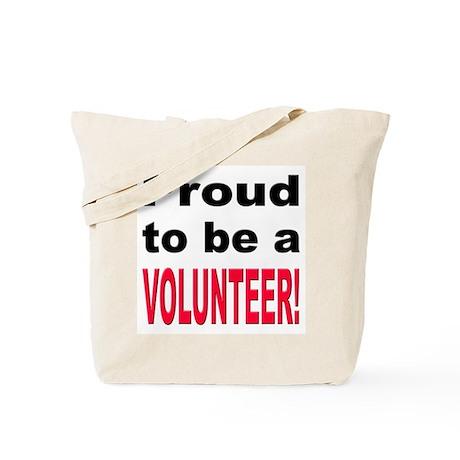 Proud Volunteer Tote Bag