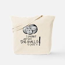 I crochet.... Tote Bag