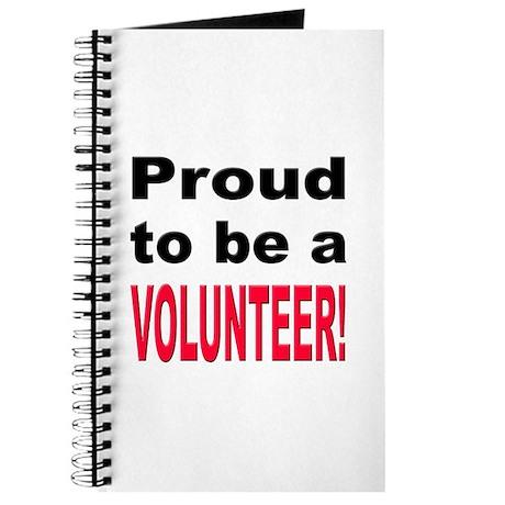 Proud Volunteer Journal