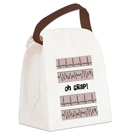 oh crap cell phone cases CP.PNG Canvas Lunch Bag