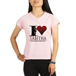 I Heart Tabby Performance Dry T-Shirt