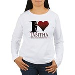 I Heart Tabby Women's Long Sleeve T-Shirt