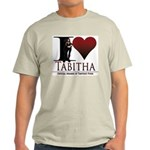 I Heart Tabby Light T-Shirt