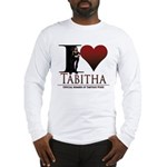 I Heart Tabby Long Sleeve T-Shirt