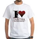 I Heart Tabby White T-Shirt