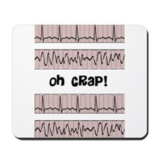 oh crap cell phone cases CP.PNG Mousepad