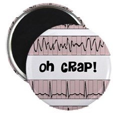 "oh crap cell phone cases CP.PNG 2.25"" Magnet (100"